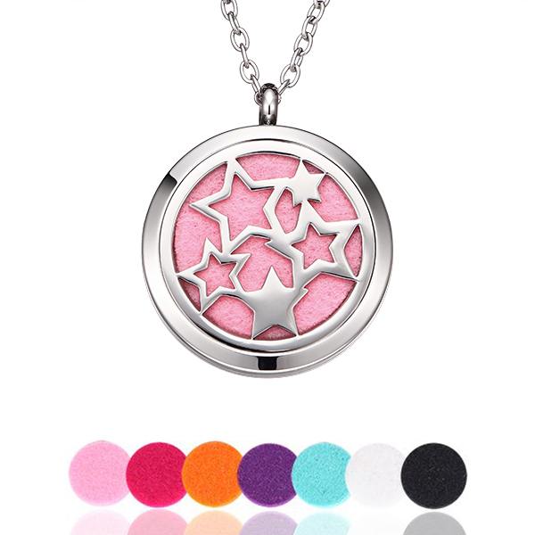 Star Perfume Locket