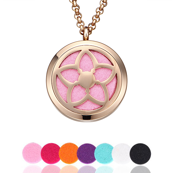 personalized perfume locket