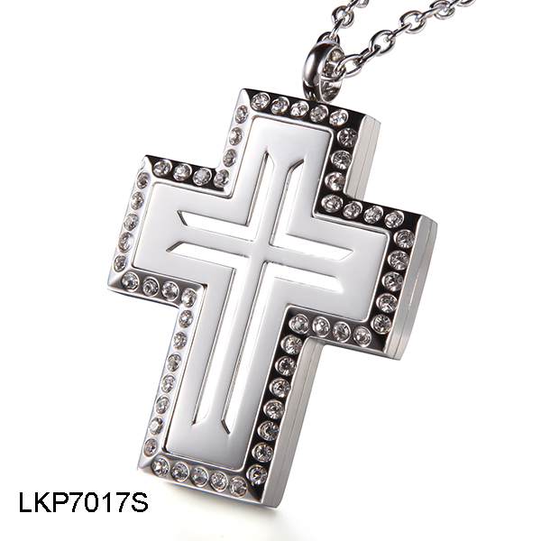 Cross Perfume Locket