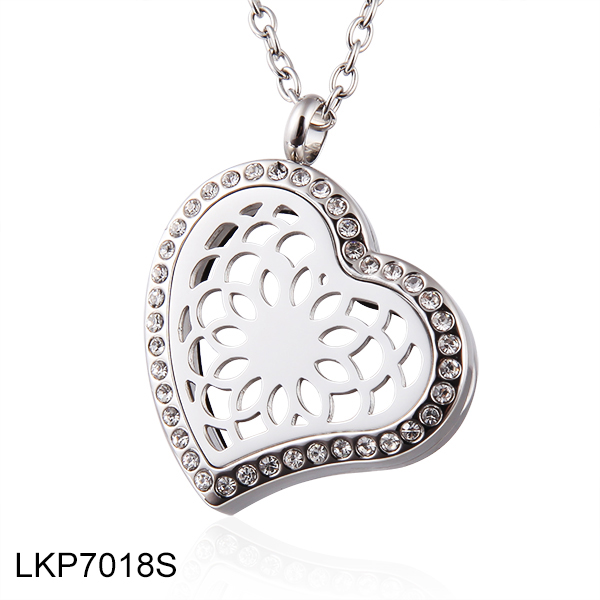 Heart Perfume Locket