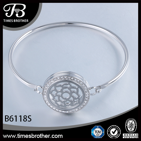 B6118S Perfume Locket Bangle