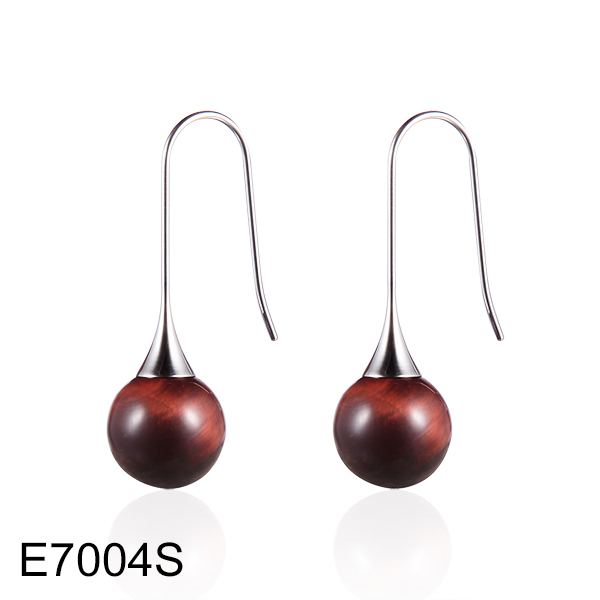 E7004S spherical maroon aga...