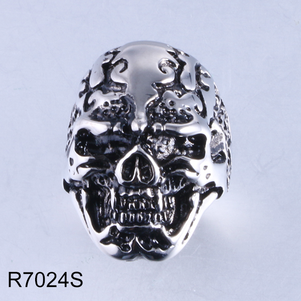 R7024S skull head stainless ...