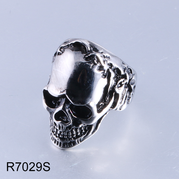 R7029S skull head stainless ...