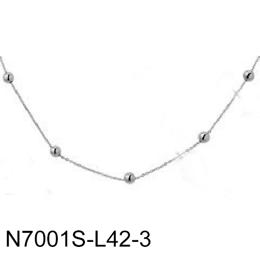 N7001S-L42-3 Silver Cubic...