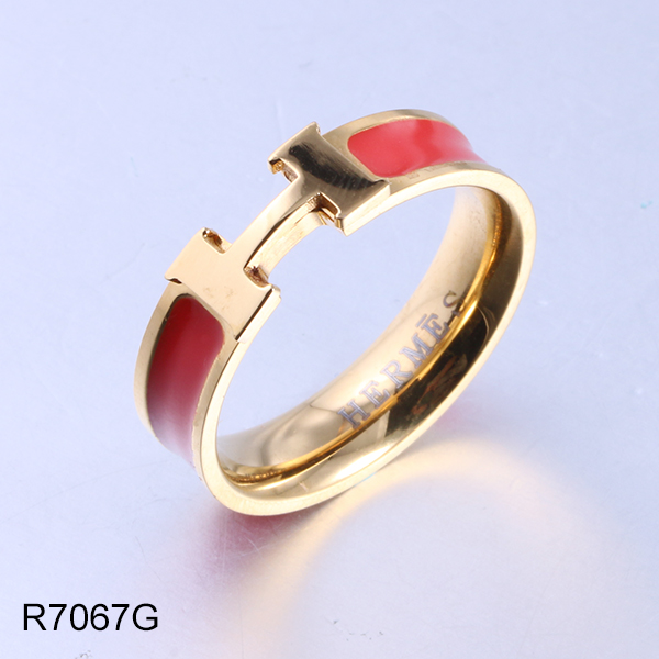 R7067G gold letters and enam...