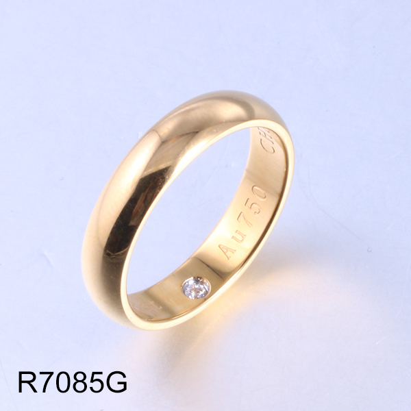 R7085G gold letter and diam...